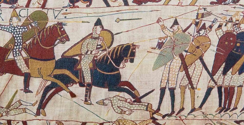 A depiction of the Battle of Hastings from the Bayeux Tapestry. Part of the Qwiz5 series by Qwiz Quizbowl Camp, written to help quiz bowl teams power more tossups!
