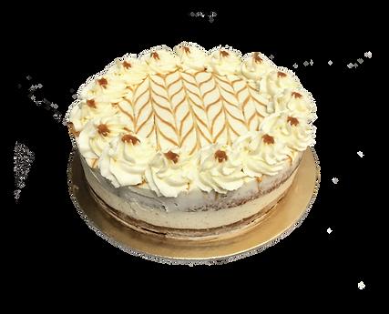 torta vaniglia e mascarpone con caramello, bohemién