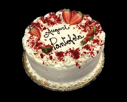 torta red velvet con nocciola, old fashioned