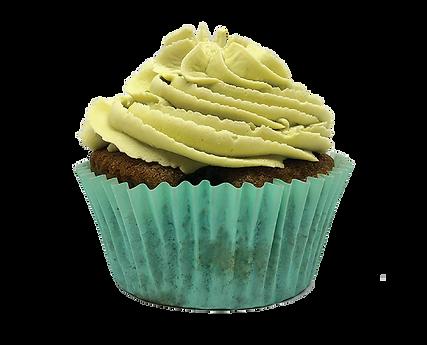 Cupcake Vanilla Matcha con More