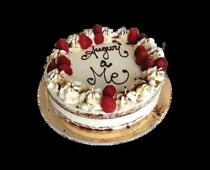 torta red velvet con lamponi, bohemién