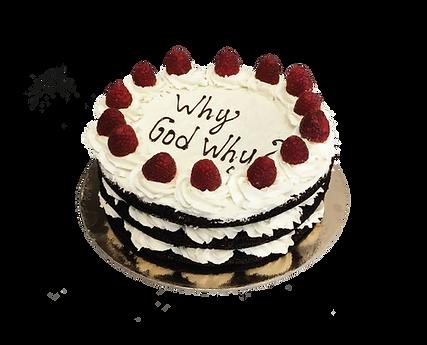 torta cioccolato e mascarpone, naked