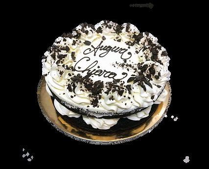 torta cioccolato e panna con nocciola, naked
