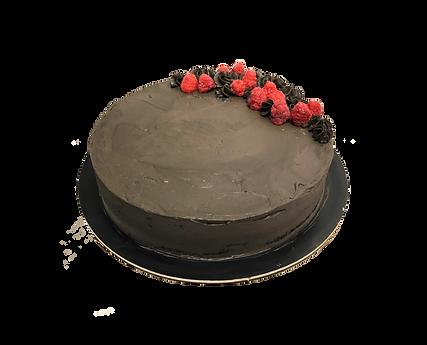 torta ciocolato fondente e cocco, minimal