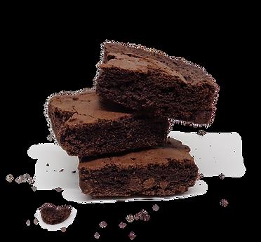 Brownie con Gocce di Cioccolato