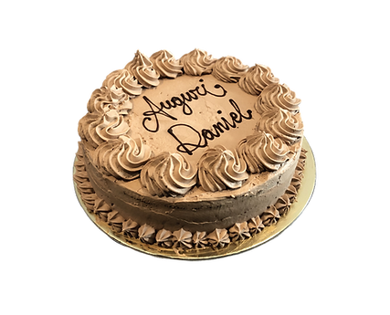 torta al cioccolato con ripieno al caramello, old fashioned