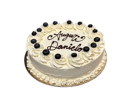 torta mirtillo e crema cheesecake, old fashioned