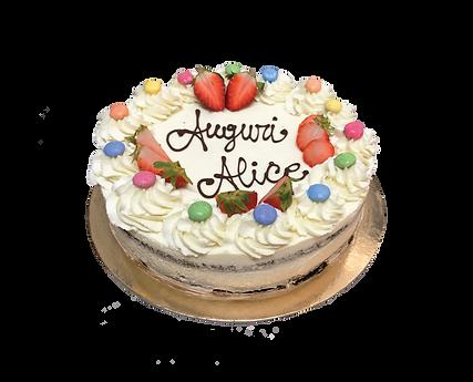 torta cioccolato e mascarpone con fragole e confetti, bohemién