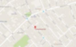 Map to 165a Adams Street, Newton MA