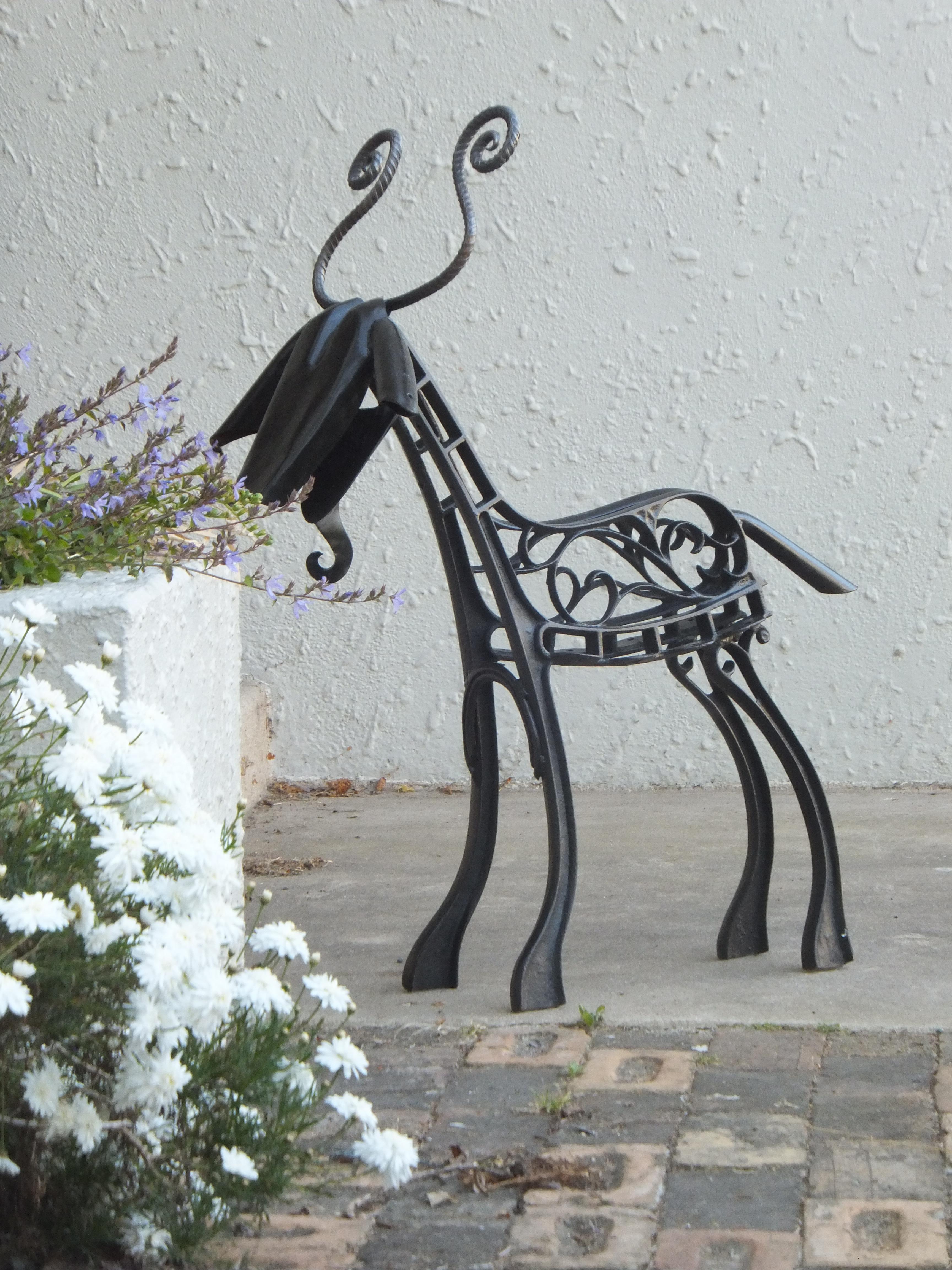 Garden seat Goat