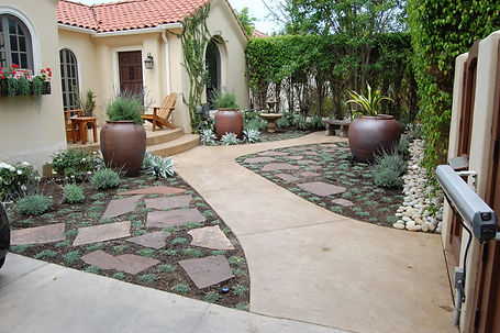 Hardscaping and landscaping in Encino CA