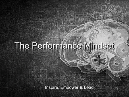 Welcome to The Performance Mindset