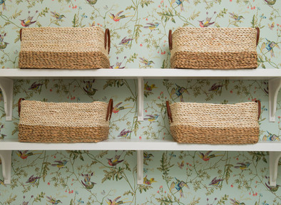 3 Hardworking Rooms You Can Make Happier With Wallpaper