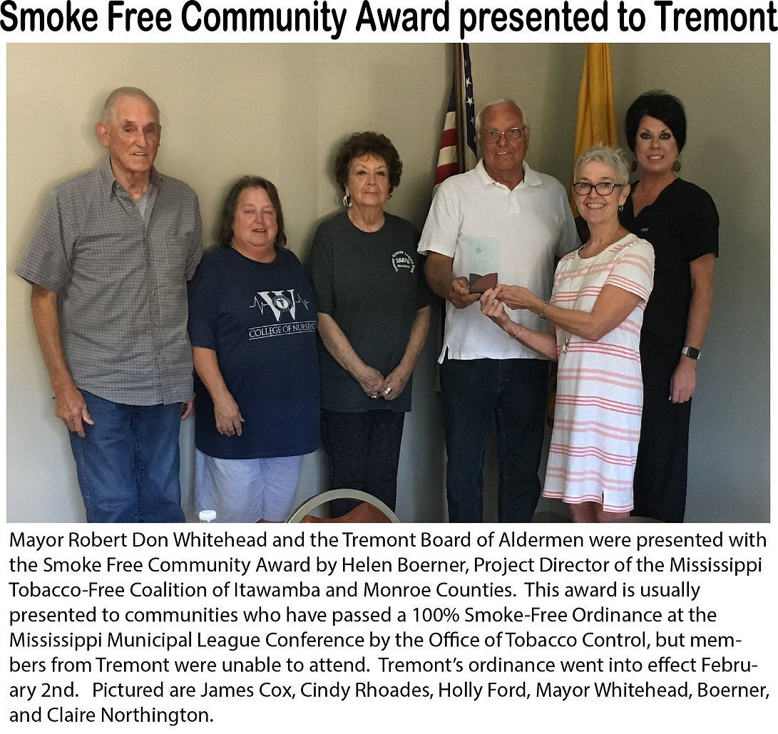 Award to Tremont.jpg