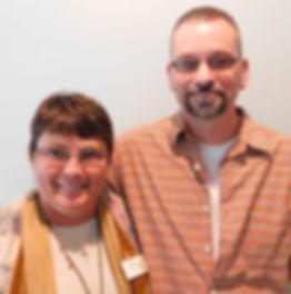 Kim Benefield and Chris Hatfield.JPG