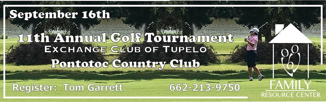 Golf Tournament Exchange Club Sept 2019