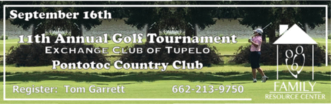 Golf Tournament Exchange Club Sept 2019