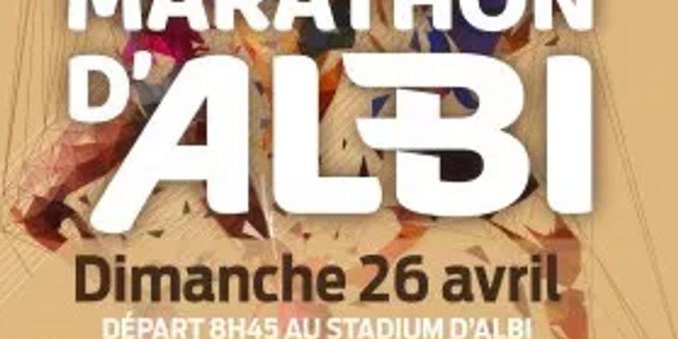 MARATHON ALBI - Reporté en 2021