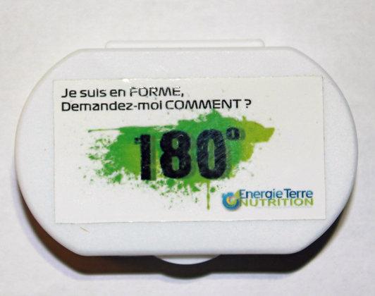 Le 180° : pack découverte : 1 pilulier + 6  gélules/boissons