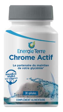 CHROME ACTIF (1 flacon de 30 gélules)