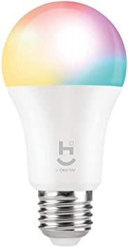 Lâmpada inteligente com várias cores