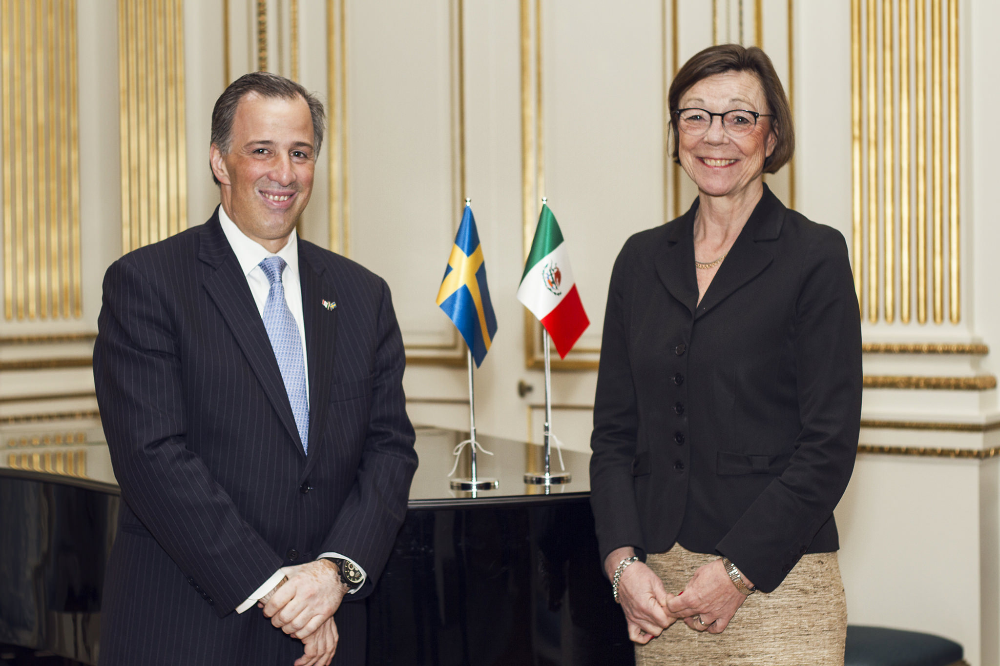 Foreign Ministers Mexico - Sweden
