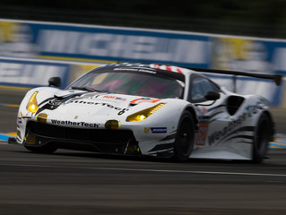 WeatherTech Racing Ferrari Fifth Six Hours into Le Mans 24