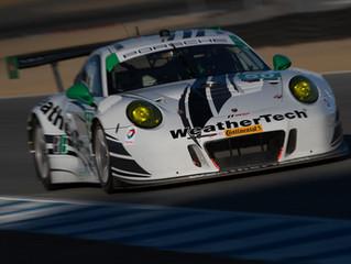 WeatherTech Racing Porsche qualifies 10th at Laguna Seca