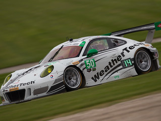 WeatherTech Racing Porsche qualifies 11th at Road America
