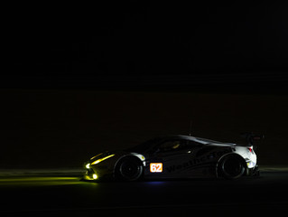 WeatherTech Racing Ferrari Fifth 12 Hours into Le Mans 24
