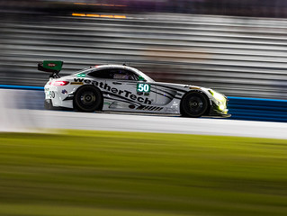 WeatherTech Racing Mercedes-AMG GT3 ninth in GTD at half distance of the Rolex 24 At Daytona