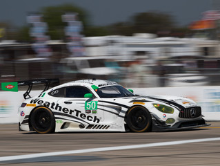 WeatherTech Racing Mercedes-AMG GT3 Ends Day Early at Sebring