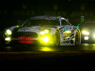 WeatherTech Racing Mercedes-AMG GT3 leads GTD six hours into the Rolex 24 At Daytona