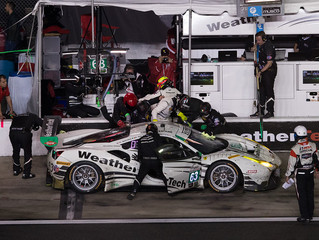 WeatherTech Racing 16th in GTD at Rolex 24 Half Way Point