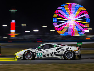 WeatherTech Racing 12th in GTD after 18 Hours at the Rolex 24