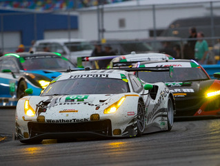 WeatherTech Racing Running 18th in GTD After Six Hours in Rolex 24
