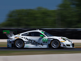 D. MacNeil and Jeannette 13th in WeatherTech Racing Porsche at Road America