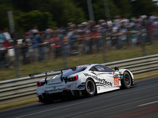 WeatherTech Racing Ferrari Qualifies Third for Le Mans 24