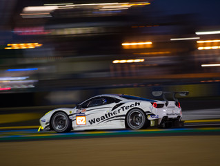 WeatherTech Racing Ferrari Has Good First Official Le Mans 24 Practice Day