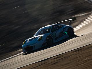 WeatherTech Racing Porsche finishes sixth at Laguna Seca