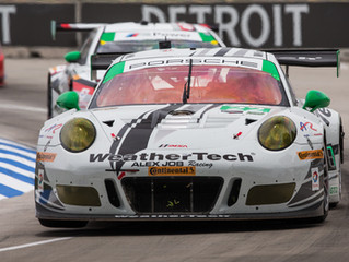 WeatherTech Racing Finishes Seventh in GTD at Detroit