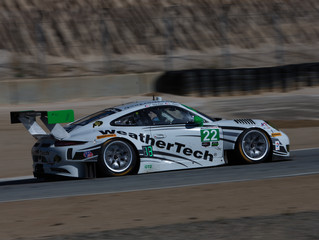 WeatherTech Racing Starting from Back at Laguna Seca