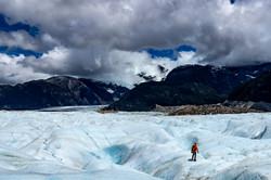 Trekking en el Glaciar