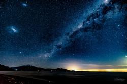 Erupción de estrellas