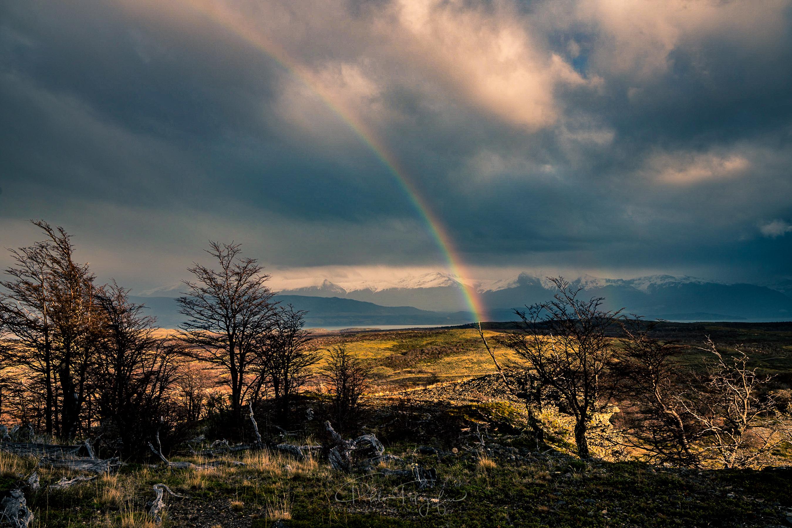 Arcoíris en le Patagonia