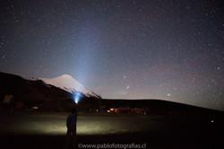 Noches del estrellas en el Volcán
