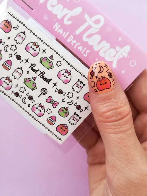 BABY SPOOP PACK - Waterslide Nail Decals
