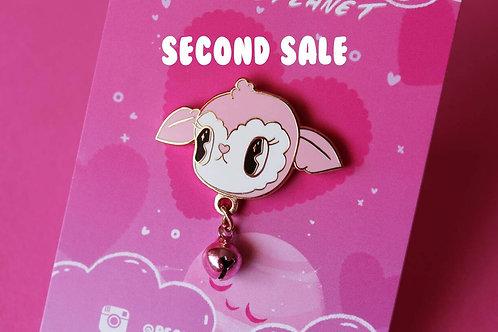 SECOND SALE Candy Lamb 3cm Hard Enamel Pin