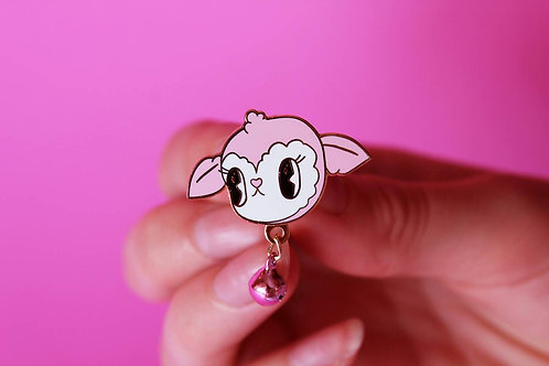 Candy Lamb 3cm Hard Enamel Pin