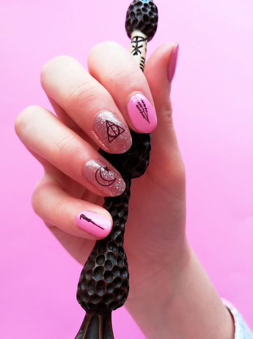 WITCHES APOTHECARY PACK - Waterslide Nail Decals